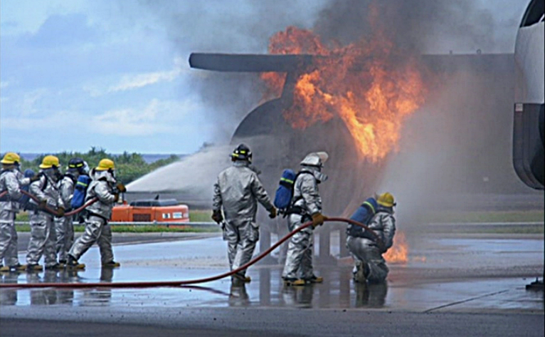 Airport Rescue & Fire Fighting (ARFF) - American Samoa | Department